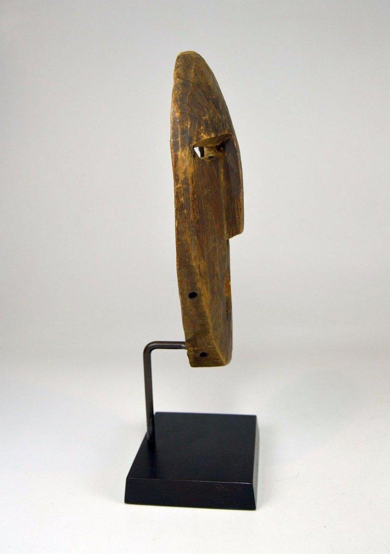 A Very Rare Old Kumu Divination Society Mask - 5