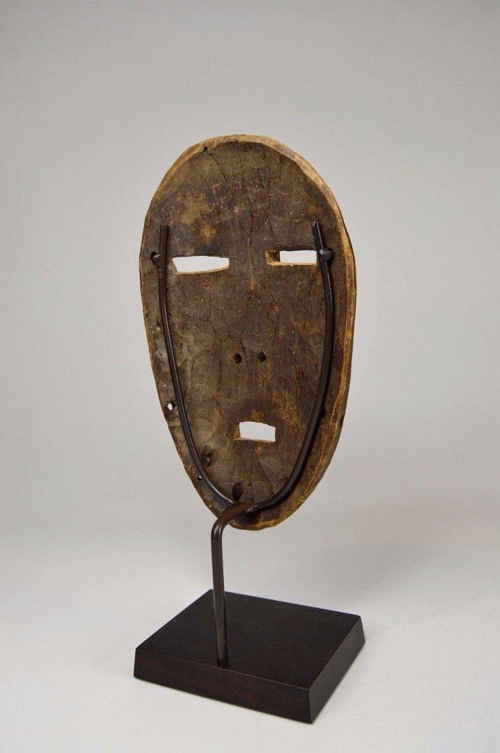 A Very Rare Old Kumu Divination Society Mask - 6