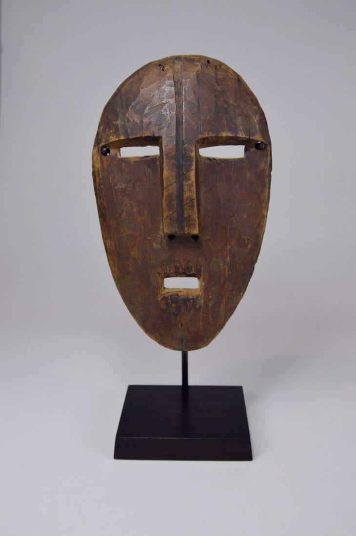A Very Rare Old Kumu Divination Society Mask - 7