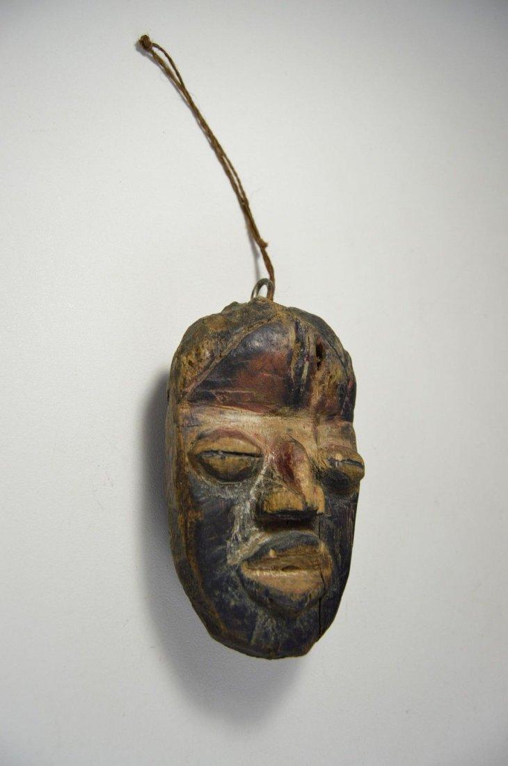 A Rare Old Dan Passport African Mask - 2