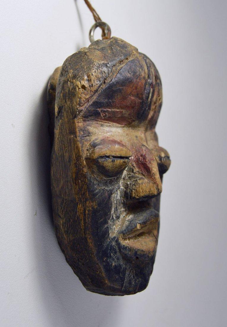 A Rare Old Dan Passport African Mask - 3
