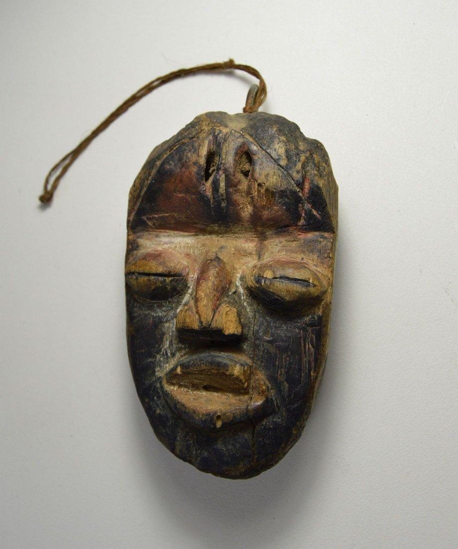 A Rare Old Dan Passport African Mask - 4