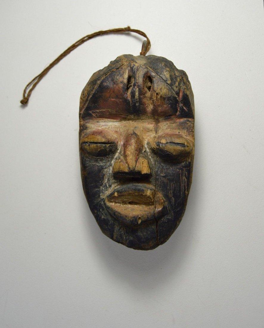 A Rare Old Dan Passport African Mask - 7