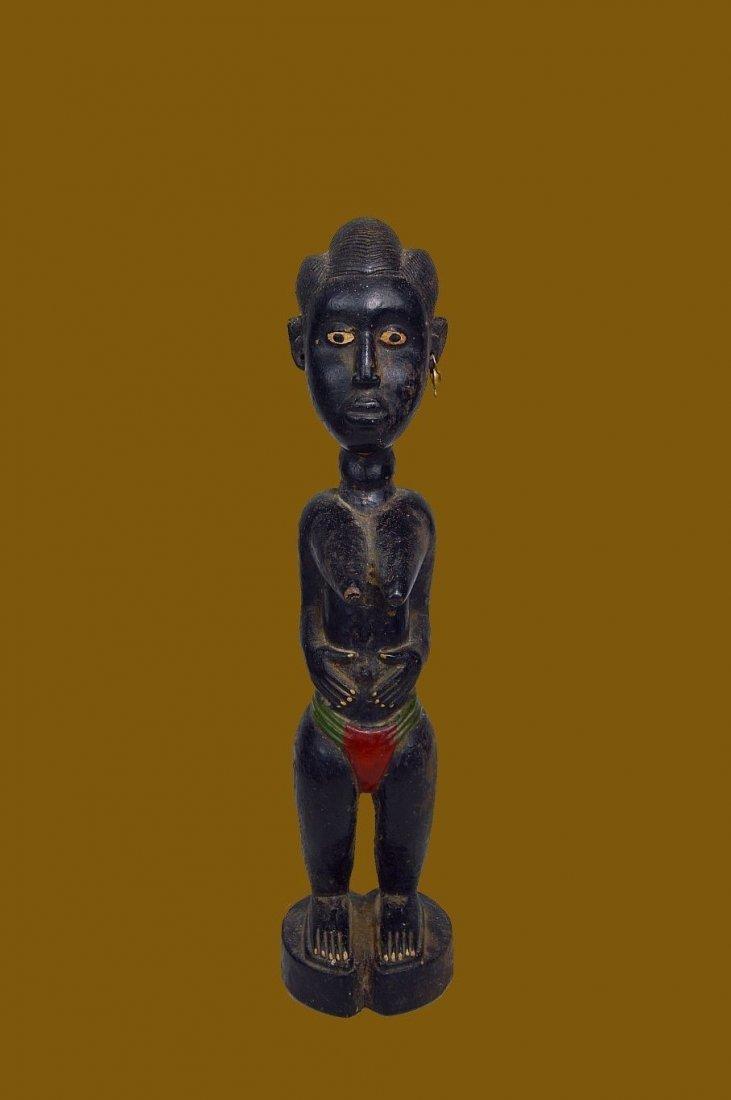 Old Baule Female sculpture Colon style