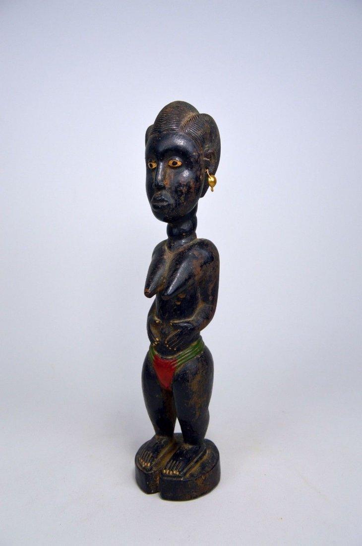 Old Baule Female sculpture Colon style - 3