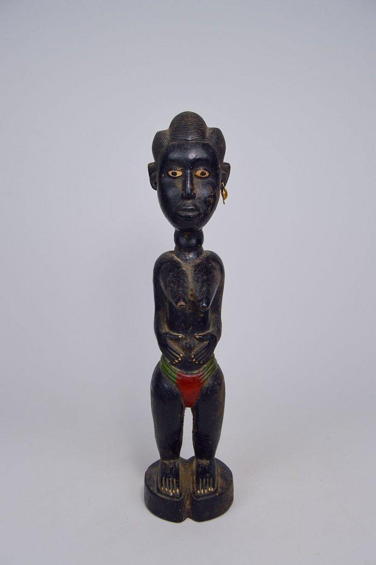 Old Baule Female sculpture Colon style - 5