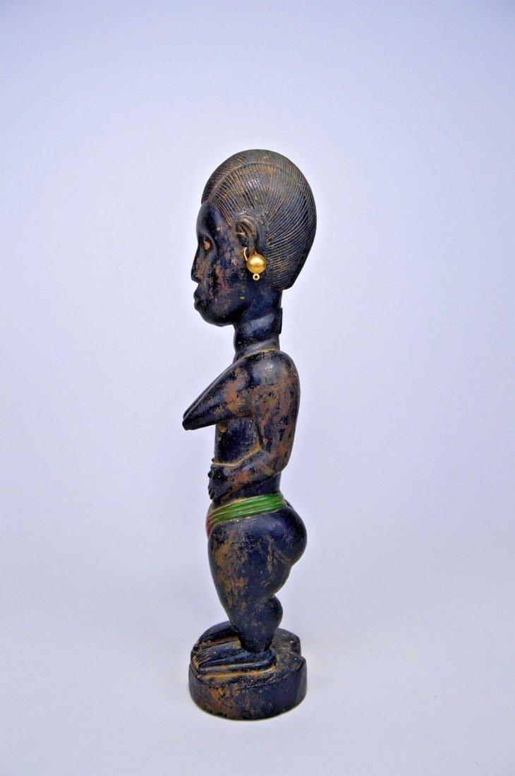 Old Baule Female sculpture Colon style - 6
