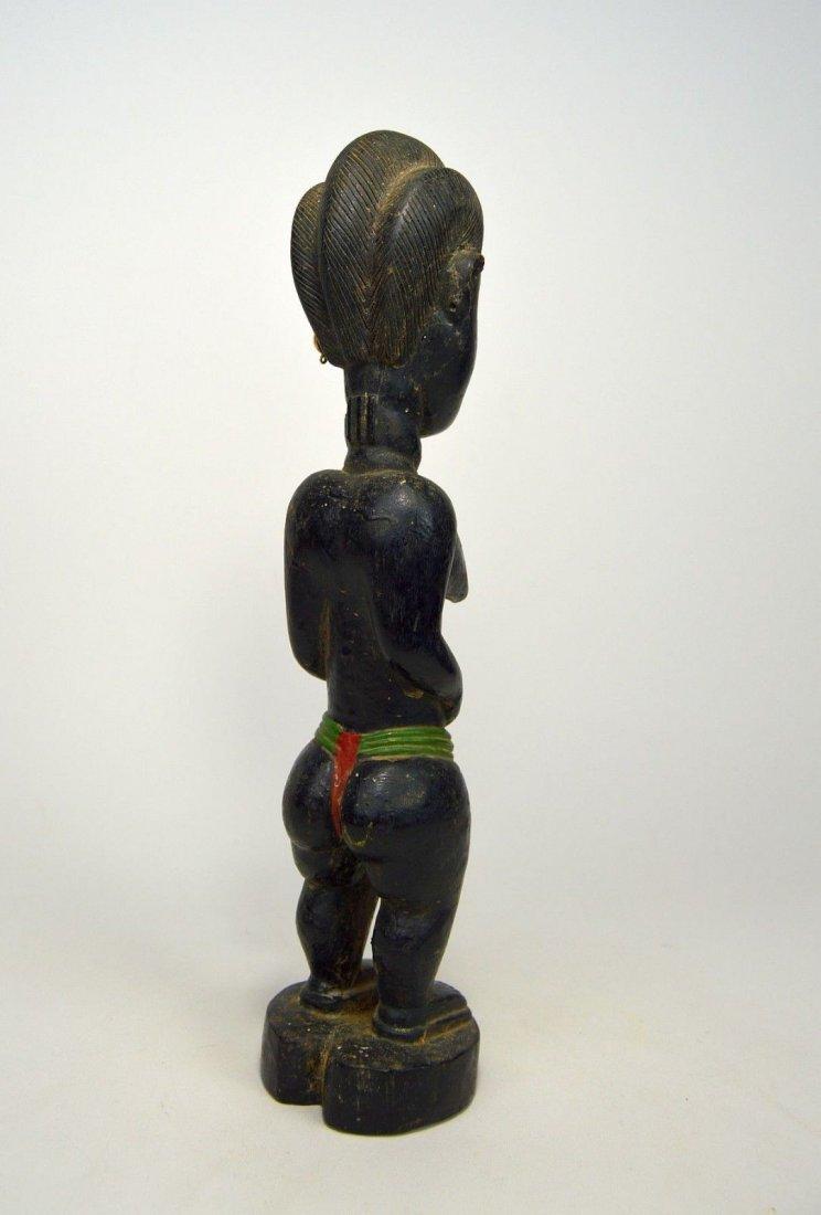 Old Baule Female sculpture Colon style - 7