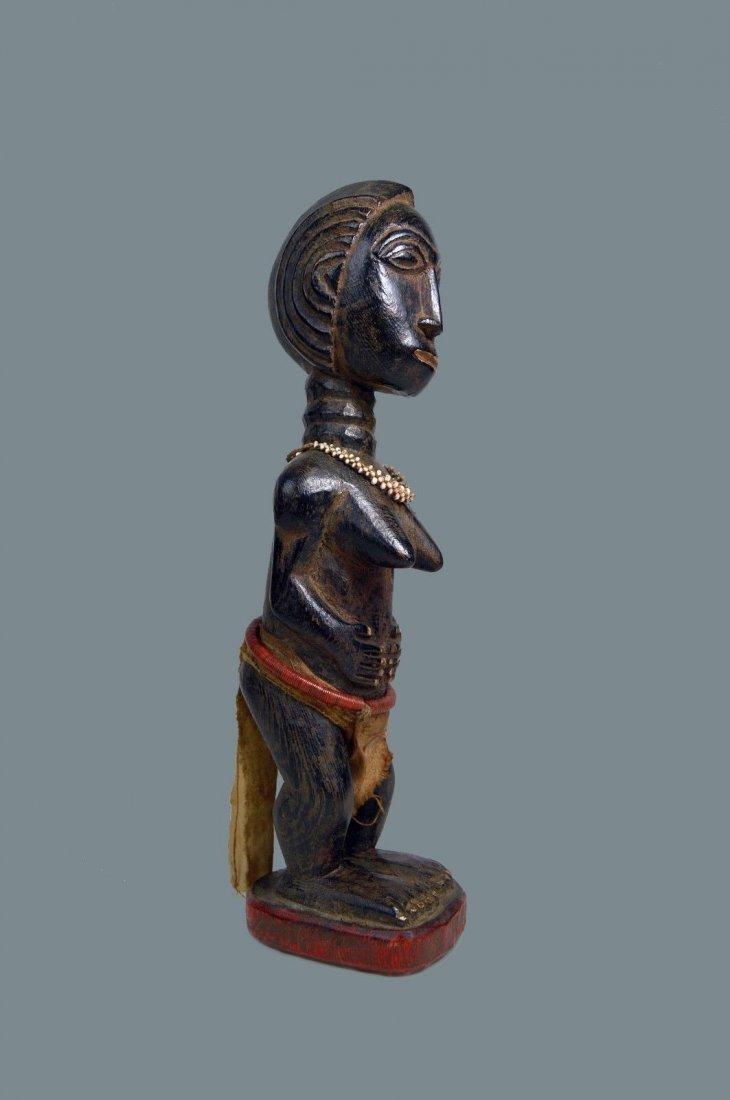 Beautiful Baule Female Colon style sculpture,