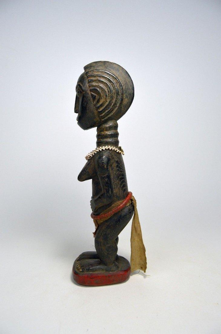 Beautiful Baule Female Colon style sculpture, - 2