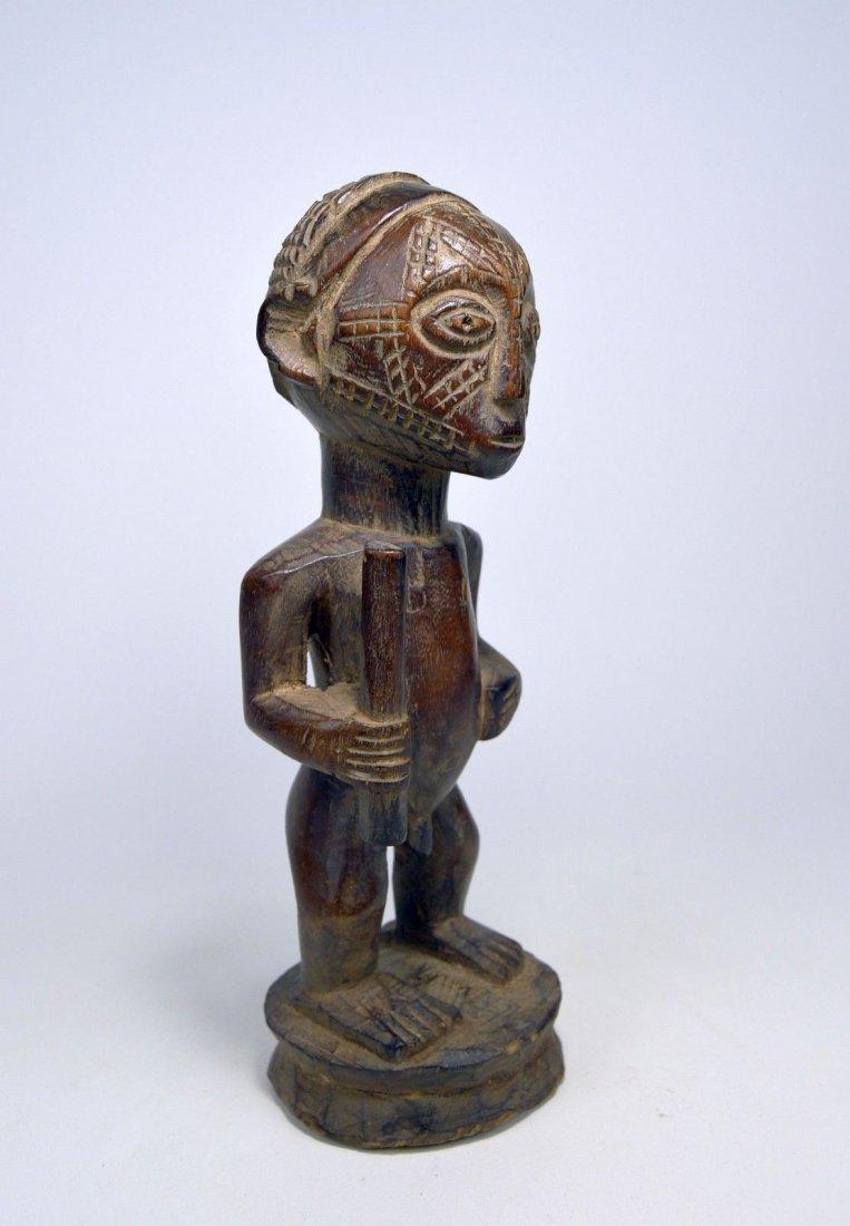 Fine Old Tabwa Male MIPASI Ancestor sculpture - 2