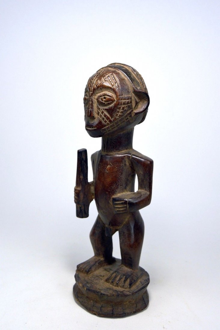 Fine Old Tabwa Male MIPASI Ancestor sculpture - 3