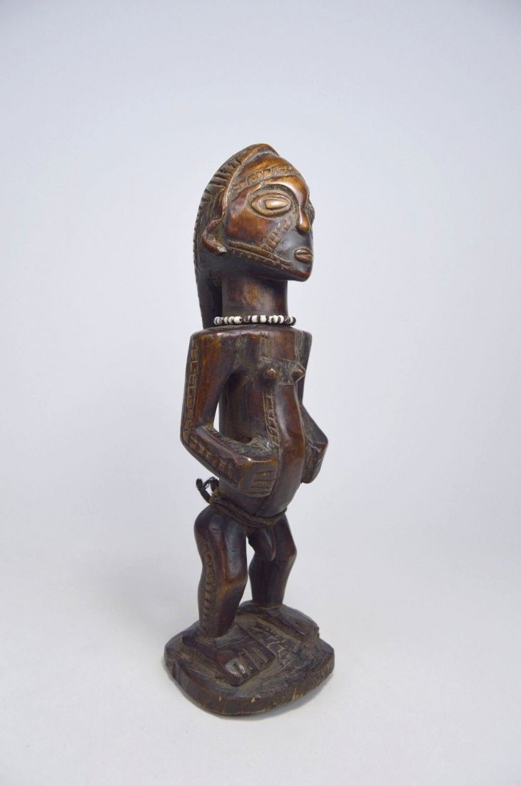 Fine Old Tabwa Male Ancestor sculpture - 4