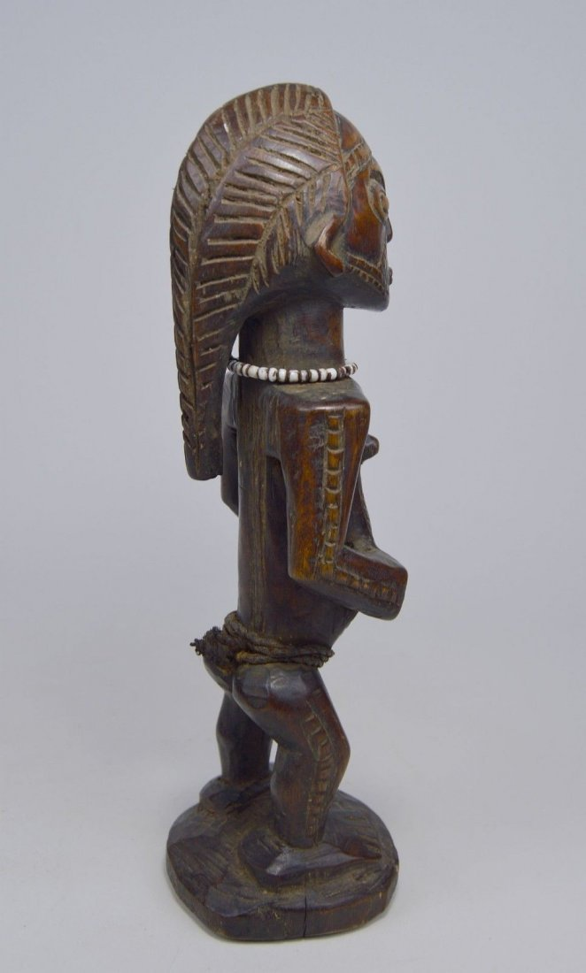 Fine Old Tabwa Male Ancestor sculpture - 7