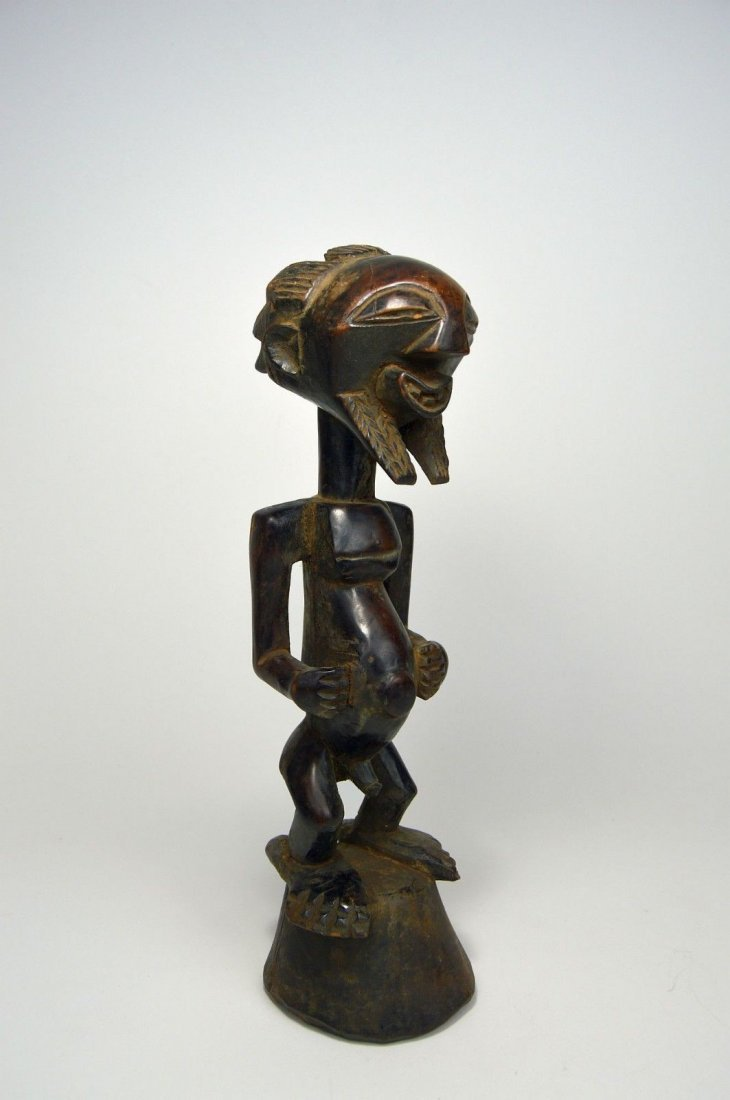 A Finely carved Songye Male sculpture, African Art - 4