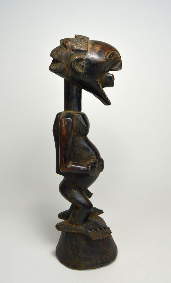 A Finely carved Songye Male sculpture, African Art - 5