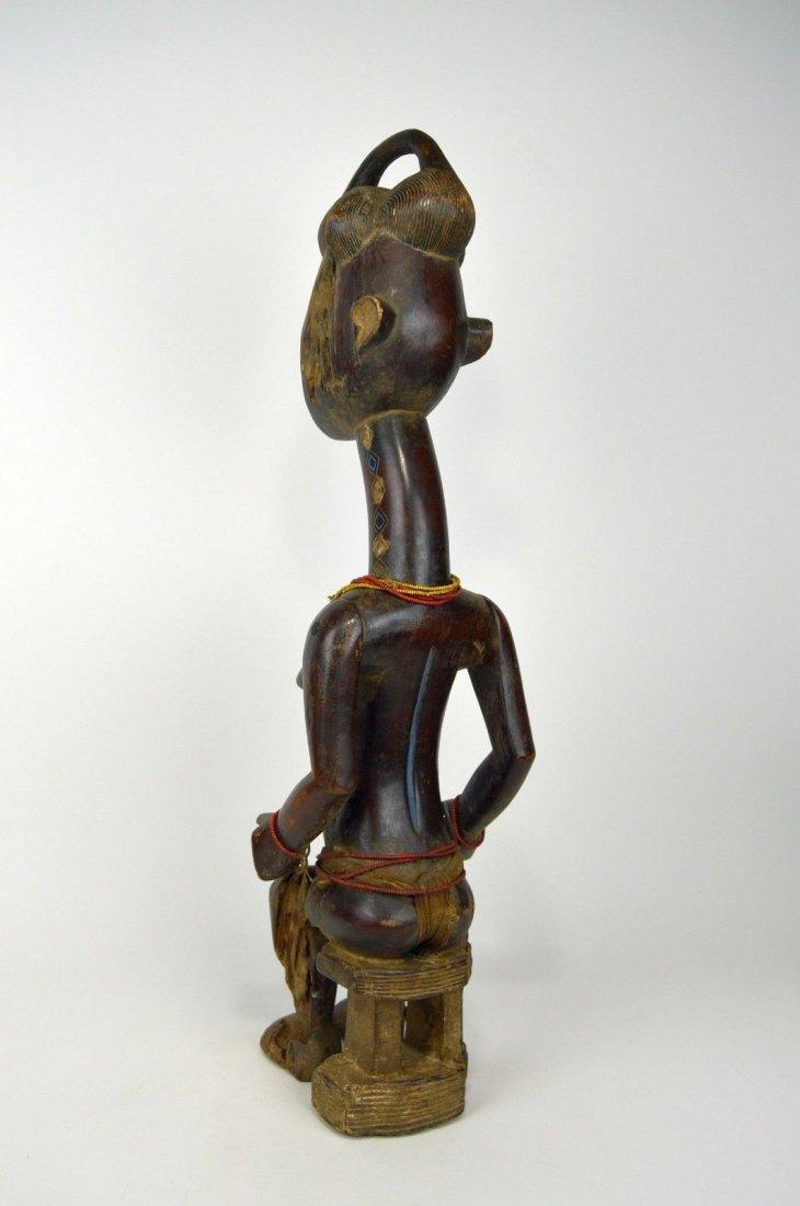 Vintage Kulango Articulated female statue African Art - 6