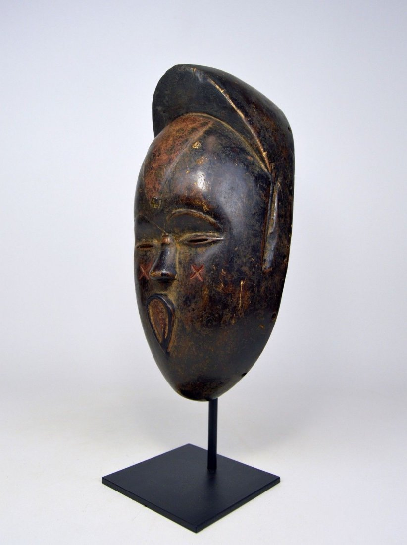 Very Unusual Old Bete African Mask African Art