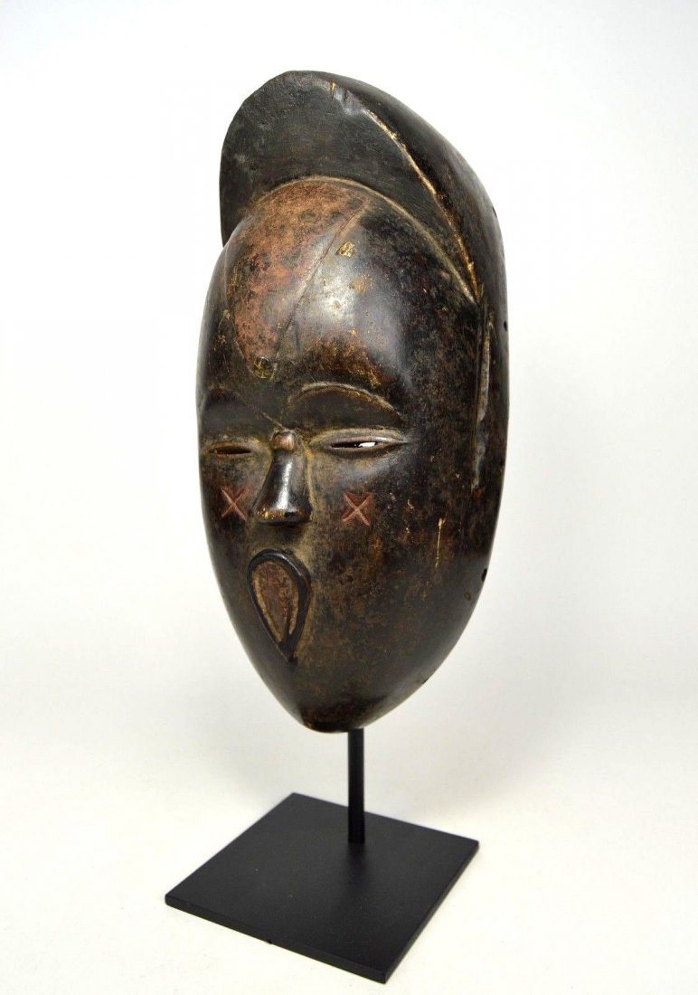 Very Unusual Old Bete African Mask African Art - 2