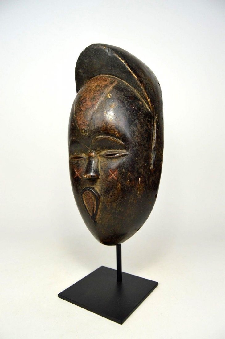 Very Unusual Old Bete African Mask African Art - 3