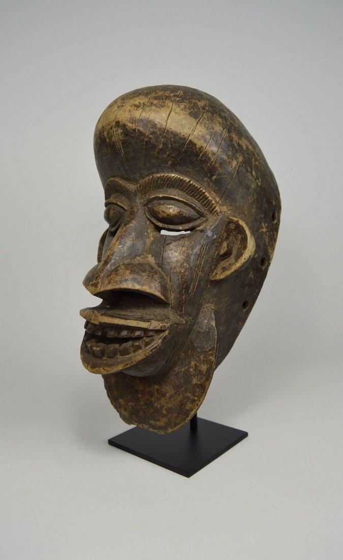 Vintage Senufo Elder mask, African Mask
