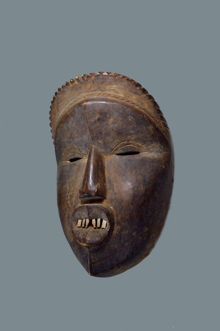 Rare Old Dan Mano Mask Ex Bordogna Collection