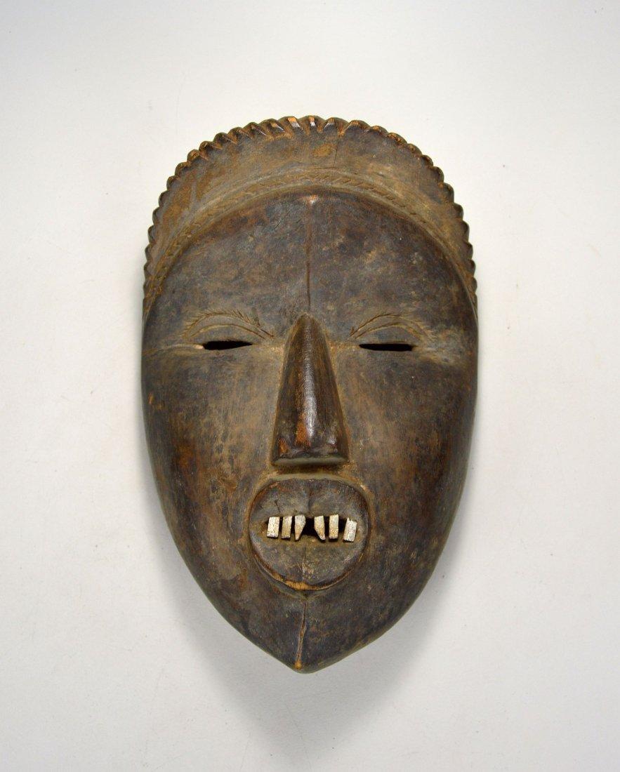 Rare Old Dan Mano Mask Ex Bordogna Collection - 2