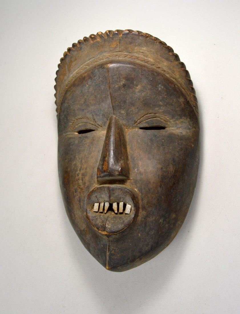 Rare Old Dan Mano Mask Ex Bordogna Collection - 3