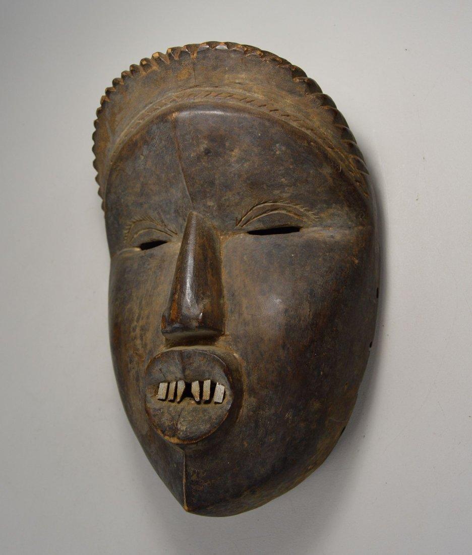 Rare Old Dan Mano Mask Ex Bordogna Collection - 4