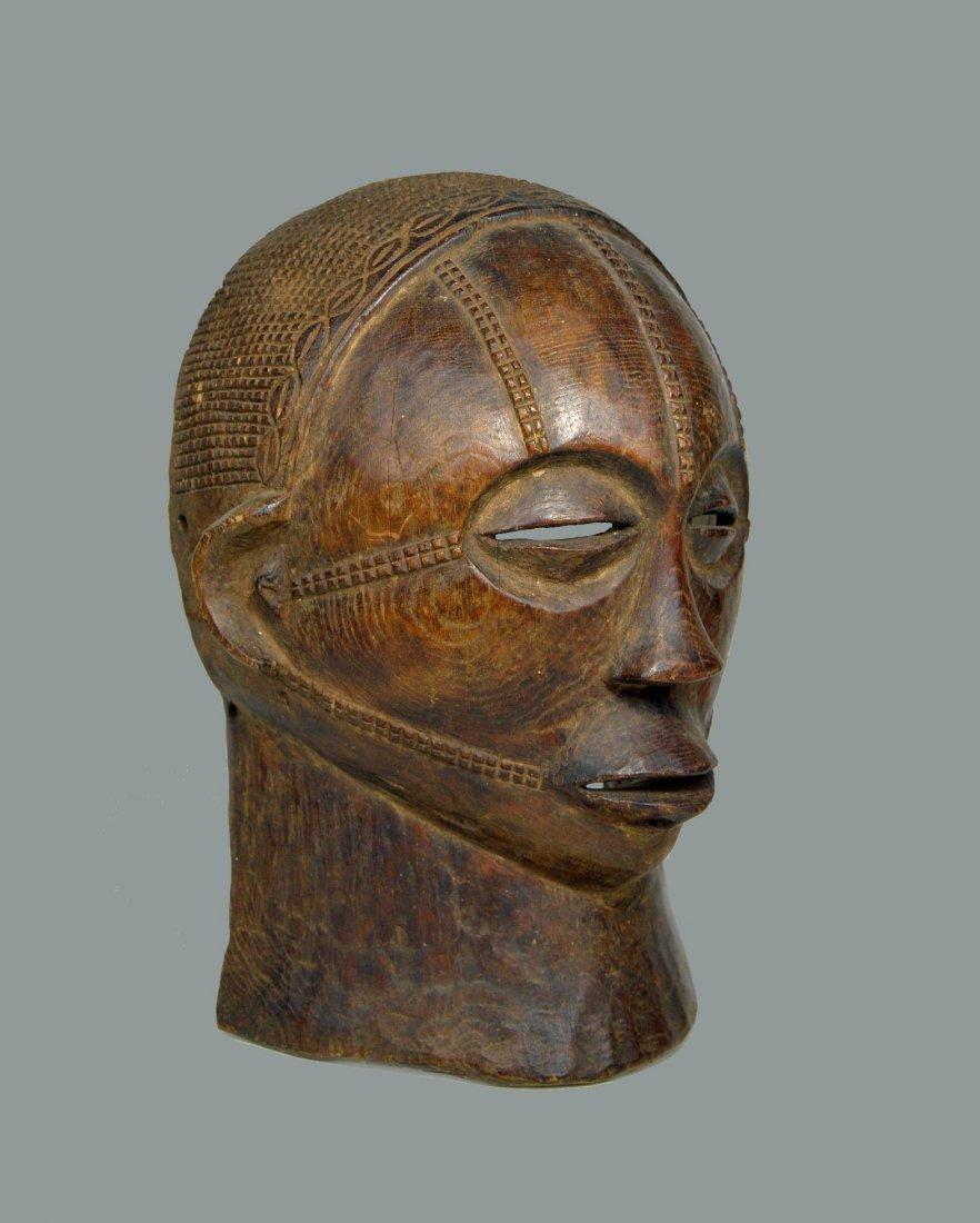A Rare Tabwa African Mask, African Art