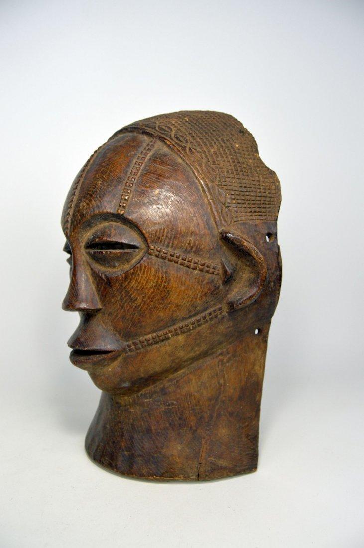 A Rare Tabwa African Mask, African Art - 3