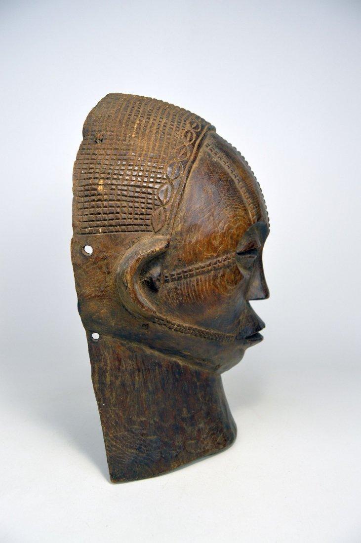 A Rare Tabwa African Mask, African Art - 4