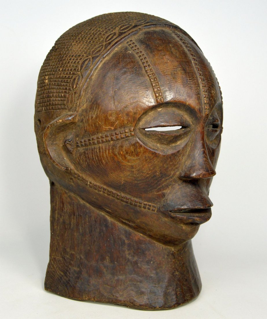 A Rare Tabwa African Mask, African Art - 5