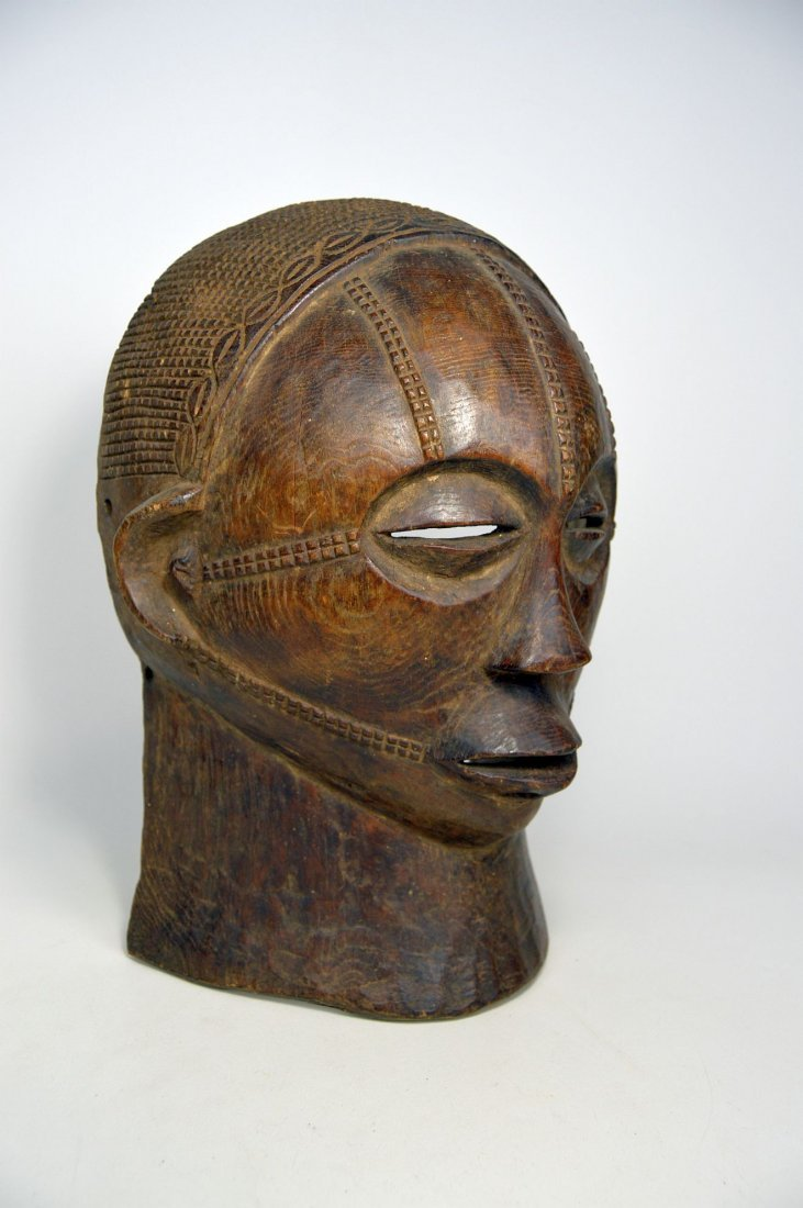 A Rare Tabwa African Mask, African Art - 6