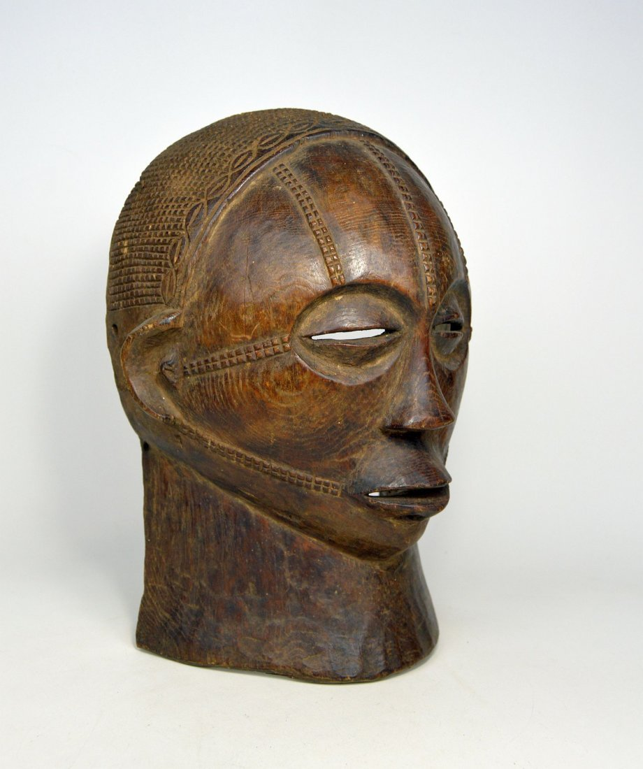 A Rare Tabwa African Mask, African Art - 8