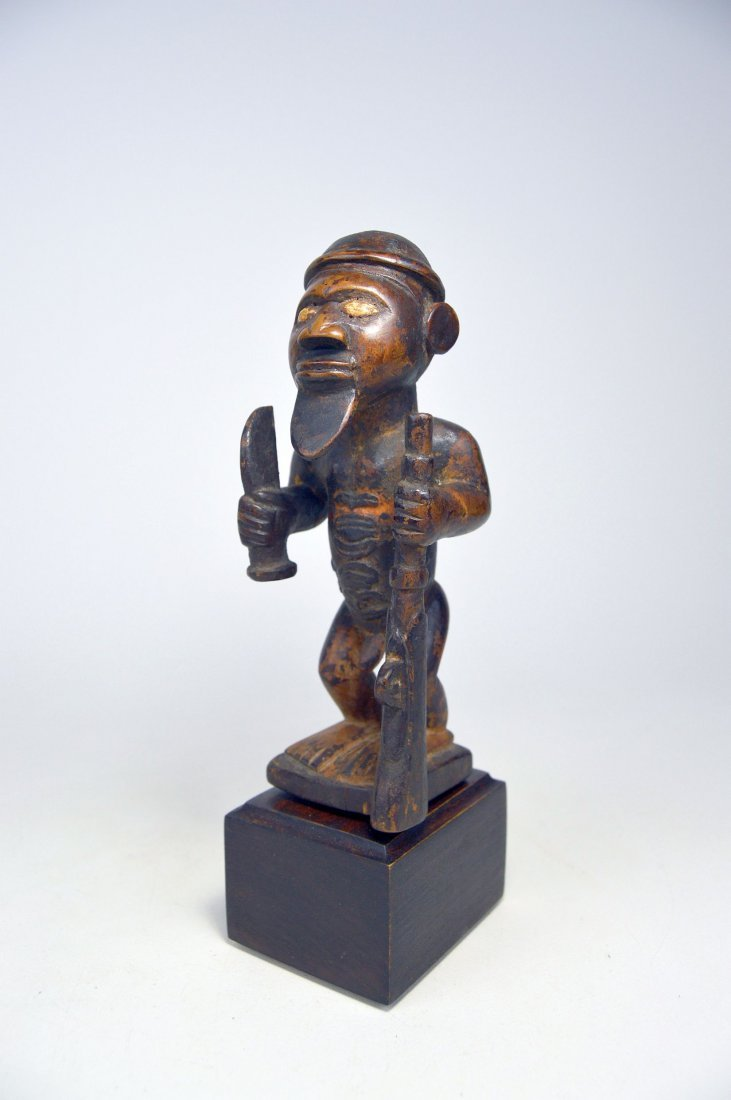 A Fine Bembe Male Ancestor sculpture African Art - 3