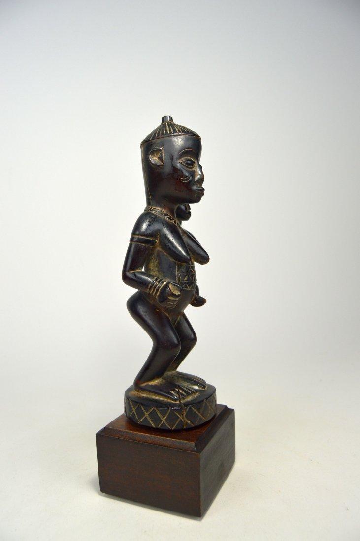 A Very Fine Kongo Maternity Image, African Art - 3