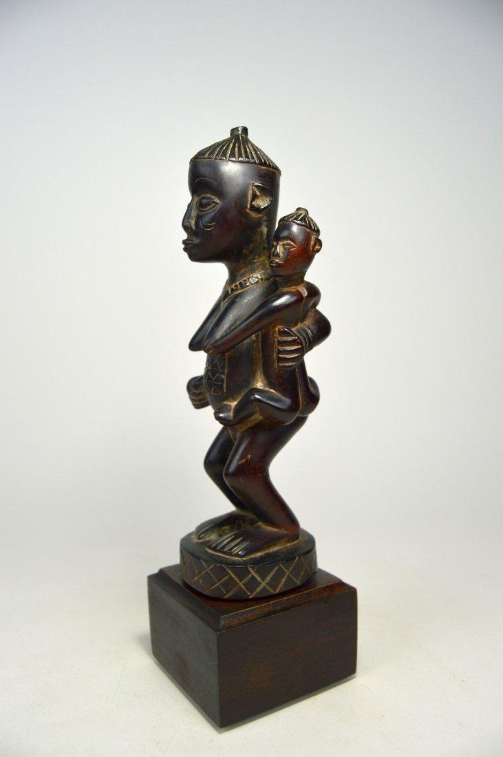 A Very Fine Kongo Maternity Image, African Art - 4