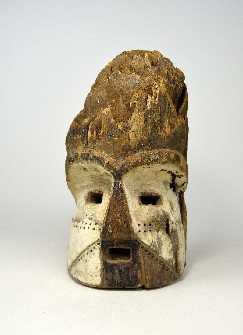 Old Eroded Kota Emboli Mask , African Art - 2