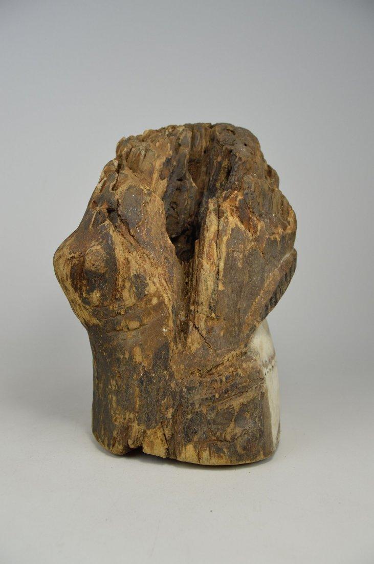 Old Eroded Kota Emboli Mask , African Art - 5