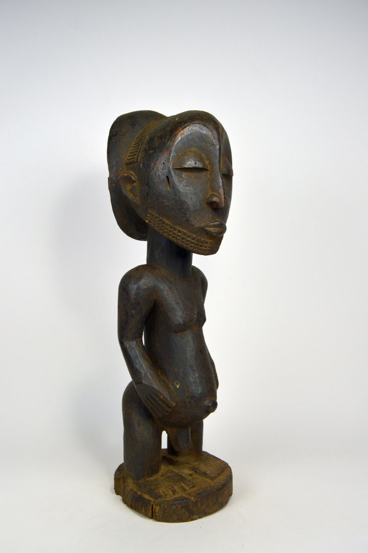 Handsome Hemba Male Ancestor sculpture African Art