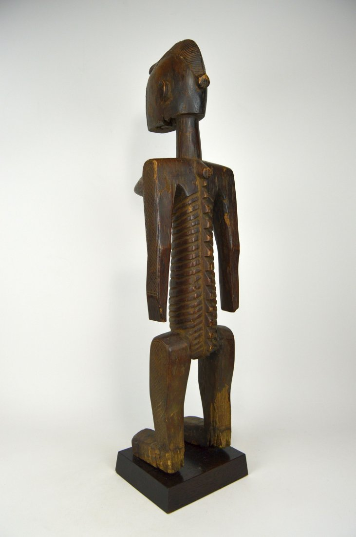 A Highly Stylized Bamana Nyeleni Sculpture African Art - 3