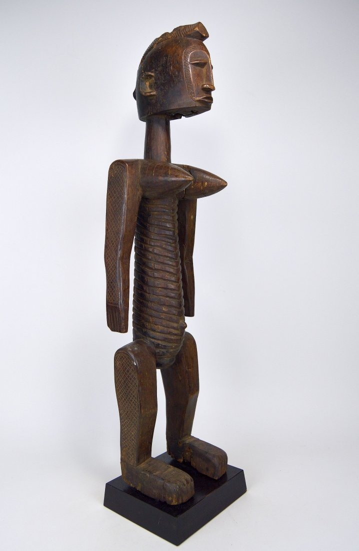 A Highly Stylized Bamana Nyeleni Sculpture African Art - 6
