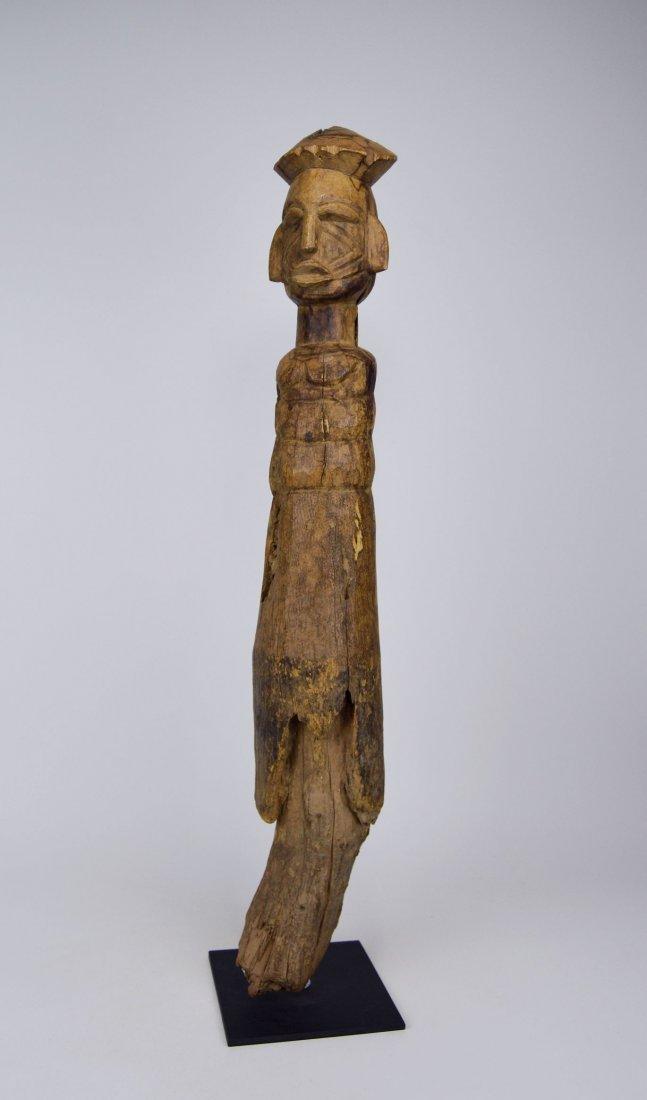 Eroded Old Lobi / Dagari Post figure, African Art
