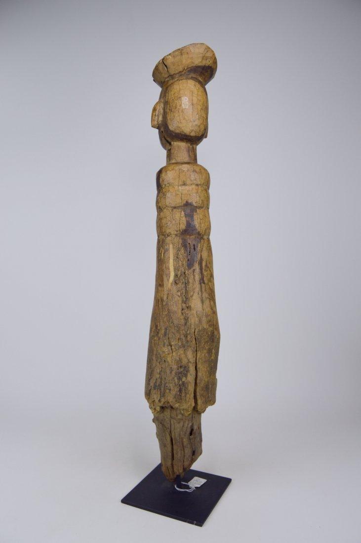 Eroded Old Lobi / Dagari Post figure, African Art - 5