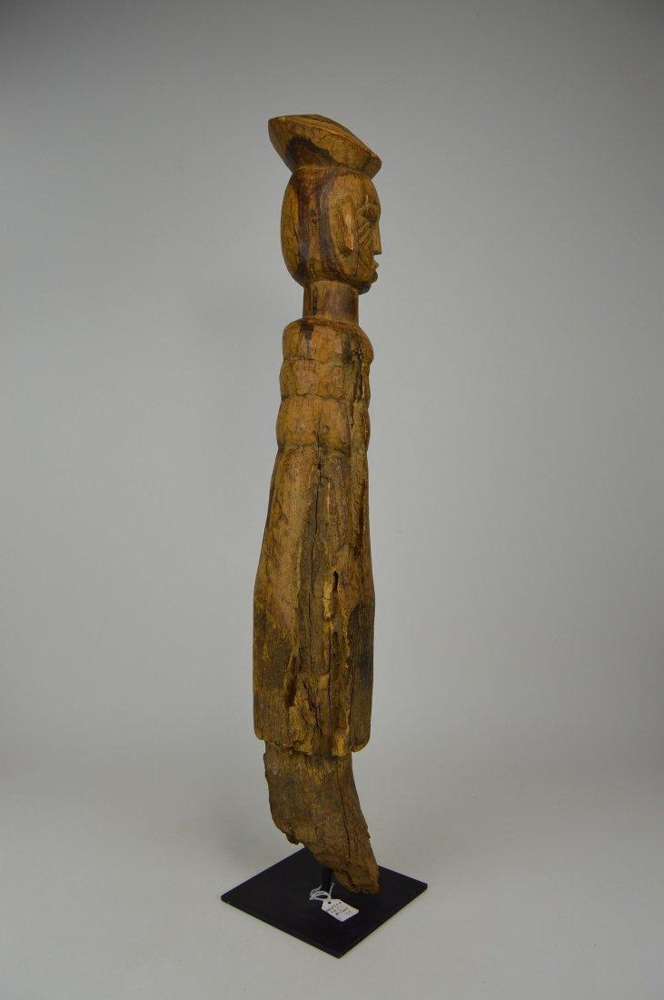 Eroded Old Lobi / Dagari Post figure, African Art - 6