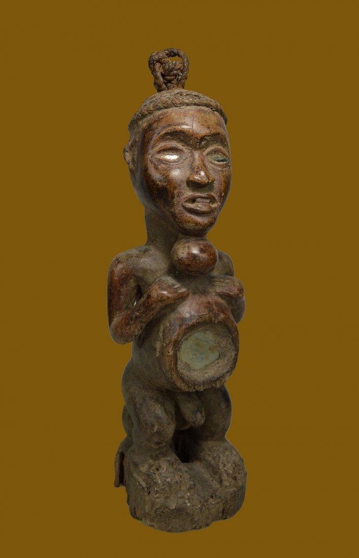 Old Yombe Magic fetish Ex Bonhams, African Art
