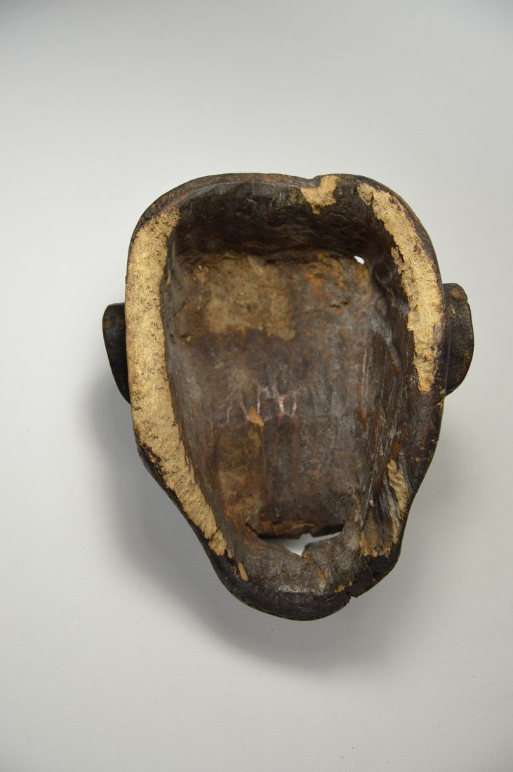 A Rare Old Bulu Monkey Mask, African Art - 5