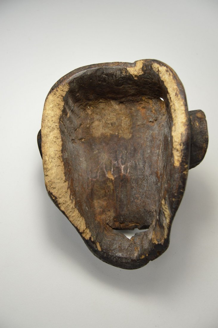 A Rare Old Bulu Monkey Mask, African Art - 6