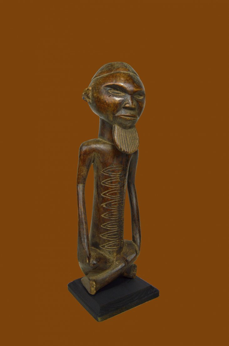 A Handsome Vintage Kongo male sculpture